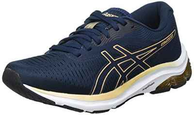 Asics Gel-Pulse 12, Road Running Shoe Mujer, French Blue/Champagne, 42 EU