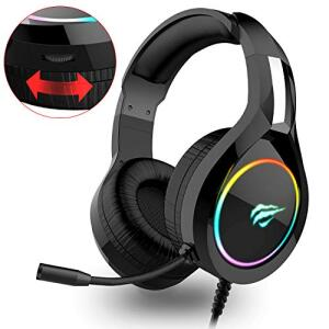 Auriculares Gaming compatible con PS4, Xbox One, PC, Laptop, Mac, Tablet.