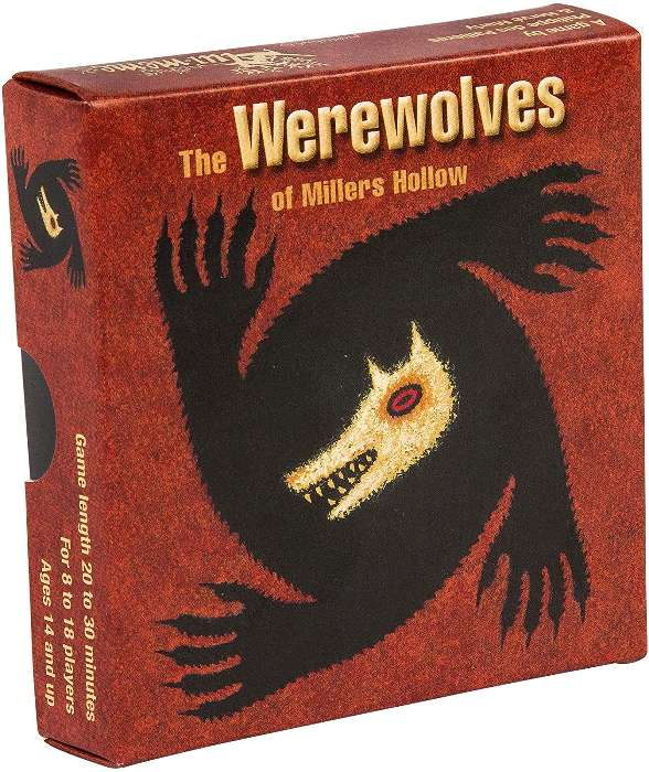 """Juego de mesa """"The Werewolves of Millers Hollow""""  Asmodee"""