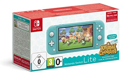 Nintendo Switch Lite + Animal Crossing + 3 meses Nintendo