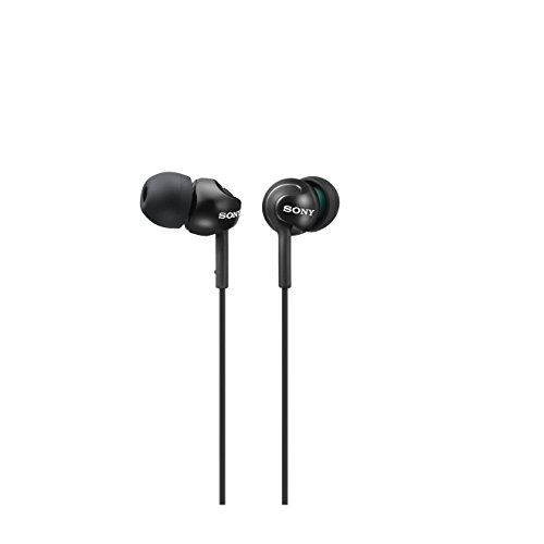 Sony MDR-EX110LP - Auriculares in-ear, color negro